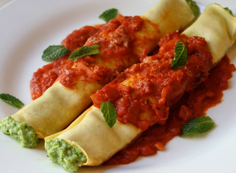 Ricotta Cannelloni at Dinotto Old Town