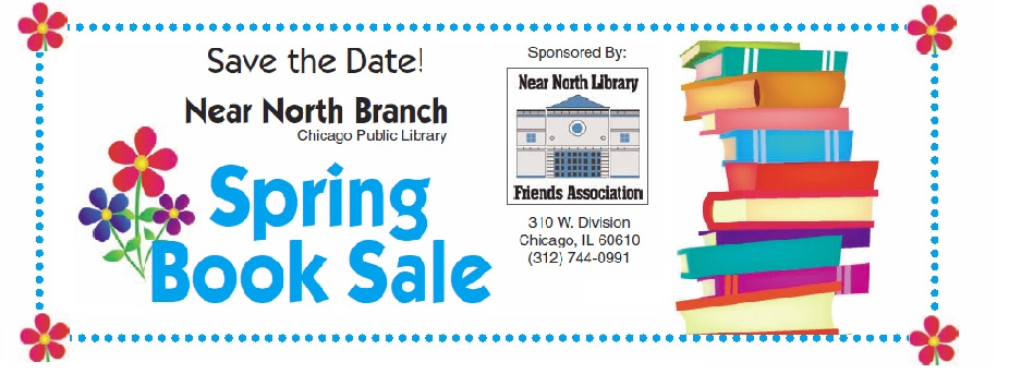 April 16/18 Spring Book Sale at Near North Library