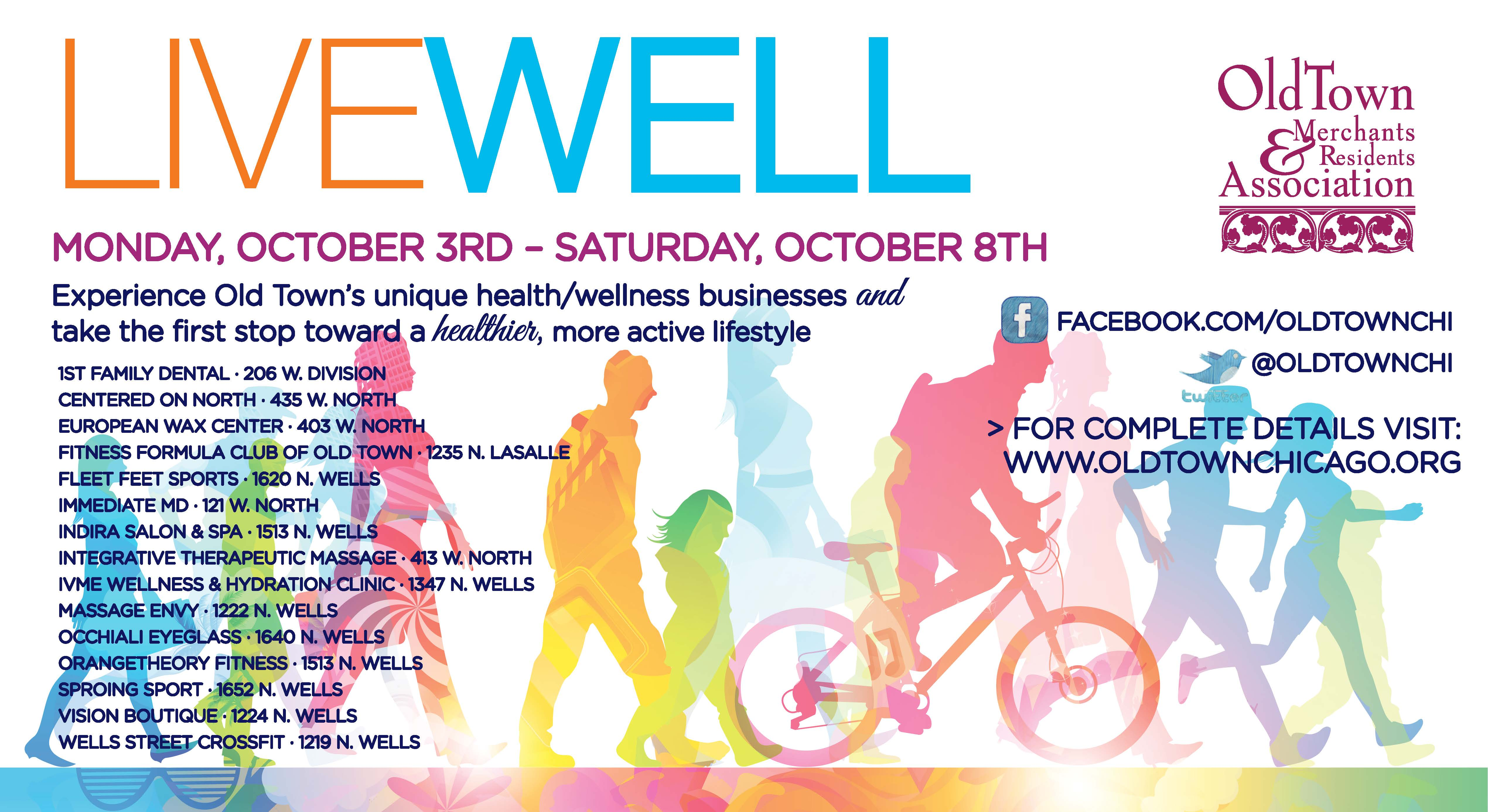 2016 Old Town Live Well Week