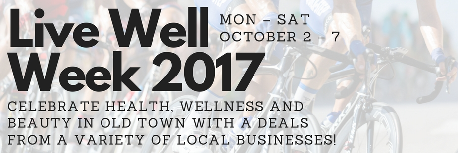 LIVE WELL Health and Wellness Series – October 2–7