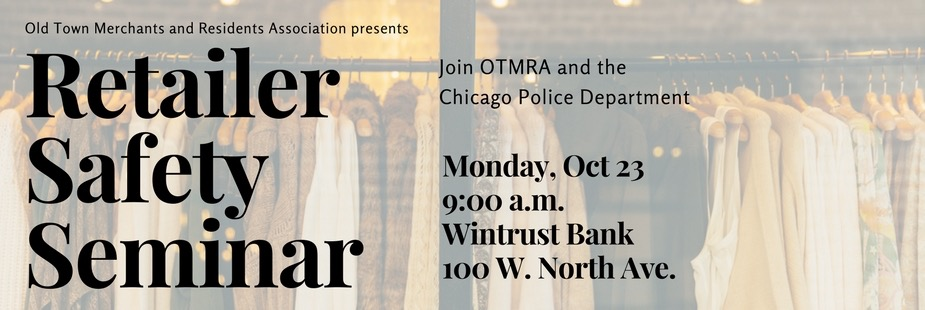 Retailer Safety Seminar with OTMRA and Chicago PD