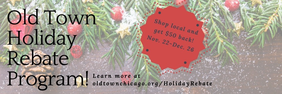 Old Town Holiday Rebate Program