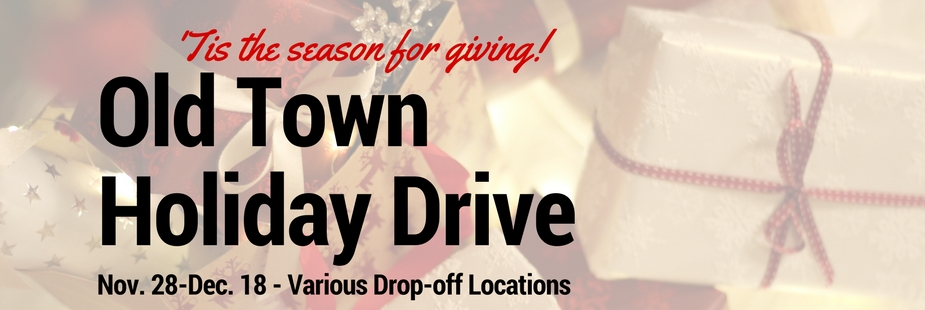 Old Town Holiday Drive – Nov 28-Dec 18