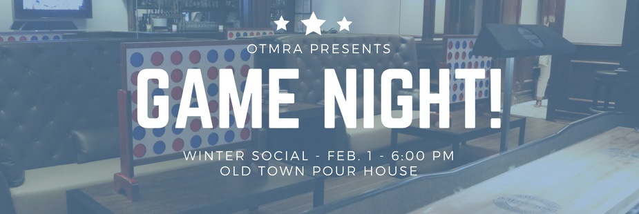 Old Town Winter Social at the Pour House!